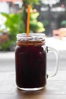 café gelado americano. foto