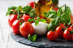 conceito de comida italiana foto