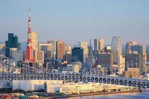 skyline de tóquio foto