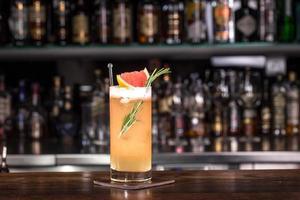 cocktail de alecrim foto