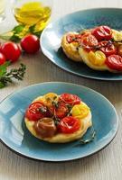 torta de tomate. foto