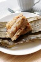 bolinho de arroz, tamale chinês, foto