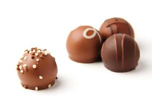 coleta de chocolate foto