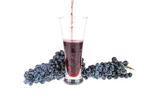 suco de uva foto