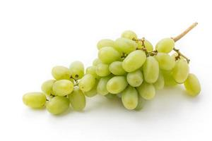 suco de uvas brancas foto