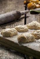 biscoitos cozidos frescos foto
