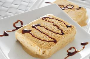 sorvete de turron espanhol foto