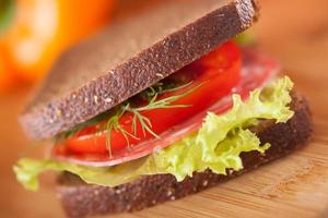 sanduíche grande foto