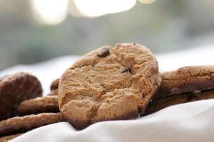 biscoitos de chocolate tratar foto