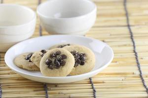 biscoitos de chocolate. foto