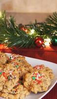 biscoitos de natal ... estilo saudável! foto