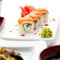 jantar japonês foto