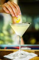 cocktail de martini foto