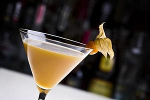 bebida de martini foto
