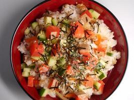 chirashi-sushi foto
