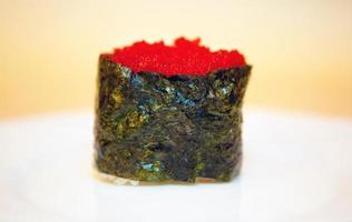 frutos do mar sushi