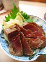 sushi de atum grelhado foto