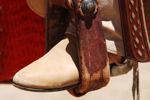 bota de cowboy foto