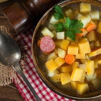 sopa de rutabaga foto