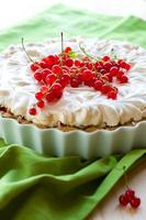 torta de merengue de groselha