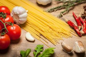 espaguete italiano foto