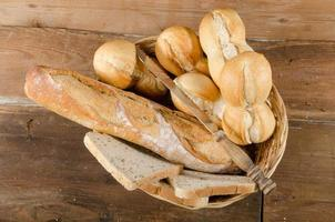 diferentes tipos de pão foto