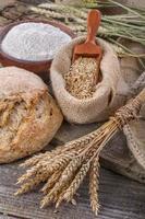 pão doméstico foto