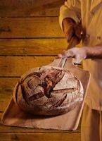 pão de padaria. foto