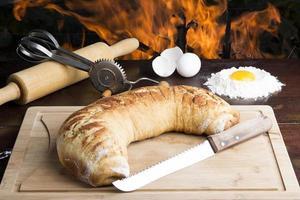 pão de canela foto