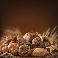 vários pães foto
