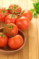 configuração de macarrão com tomate e alho foto