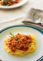 macarrão espaguete foto
