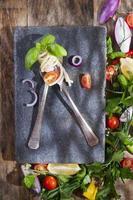 espaguete artesanal foto