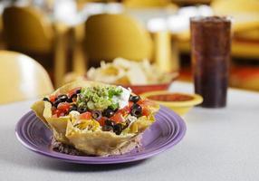 Salada de taco foto