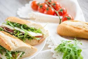 sanduíche fresco foto