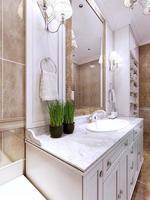 tendência do banheiro art deco foto