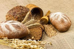 pão branco fresco foto