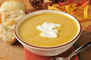 Sopa de Abóbora-cheirosa foto