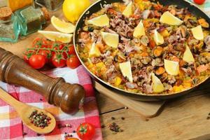 frutos do mar espanhol foto