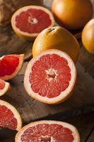 toranja rubi vermelho orgânico saudável foto