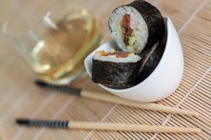 sushi vegano foto