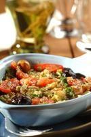 salada de berinjela foto