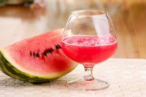 bebida de melancia foto