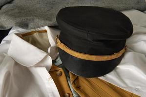 chapéu de marinheiro do vintage foto