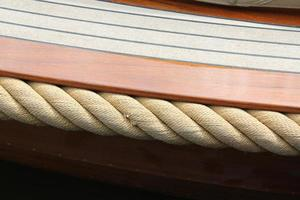 barco de canal foto