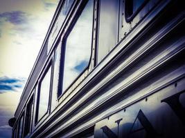 trem de passageiros foto