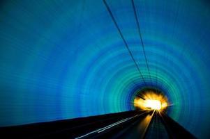 trem em movimento