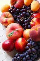 fruta madura foto