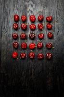 cerejas frescas foto
