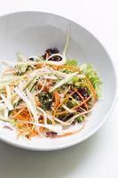 mistura de salada de legumes foto